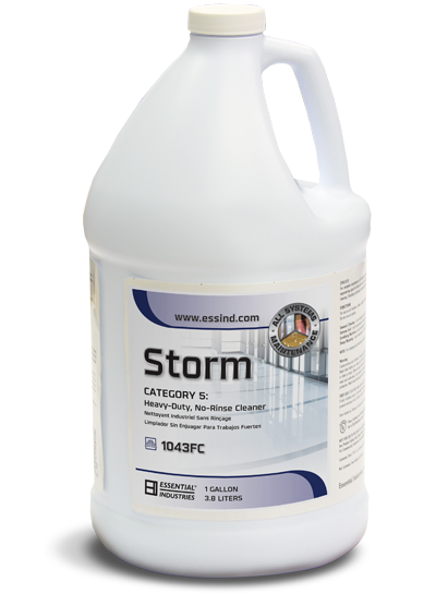 Essential Industries 'STORM' Heavy-Duty, No-Rinse Cleaner