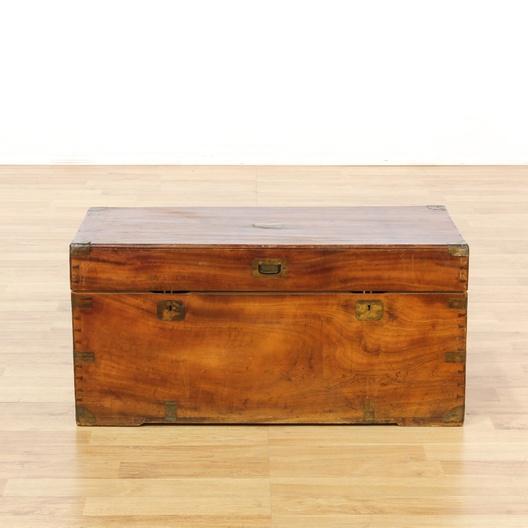 Next - Antique Cedar Hope Chest Trunk Loveseat Vintage Furniture Los Angeles
