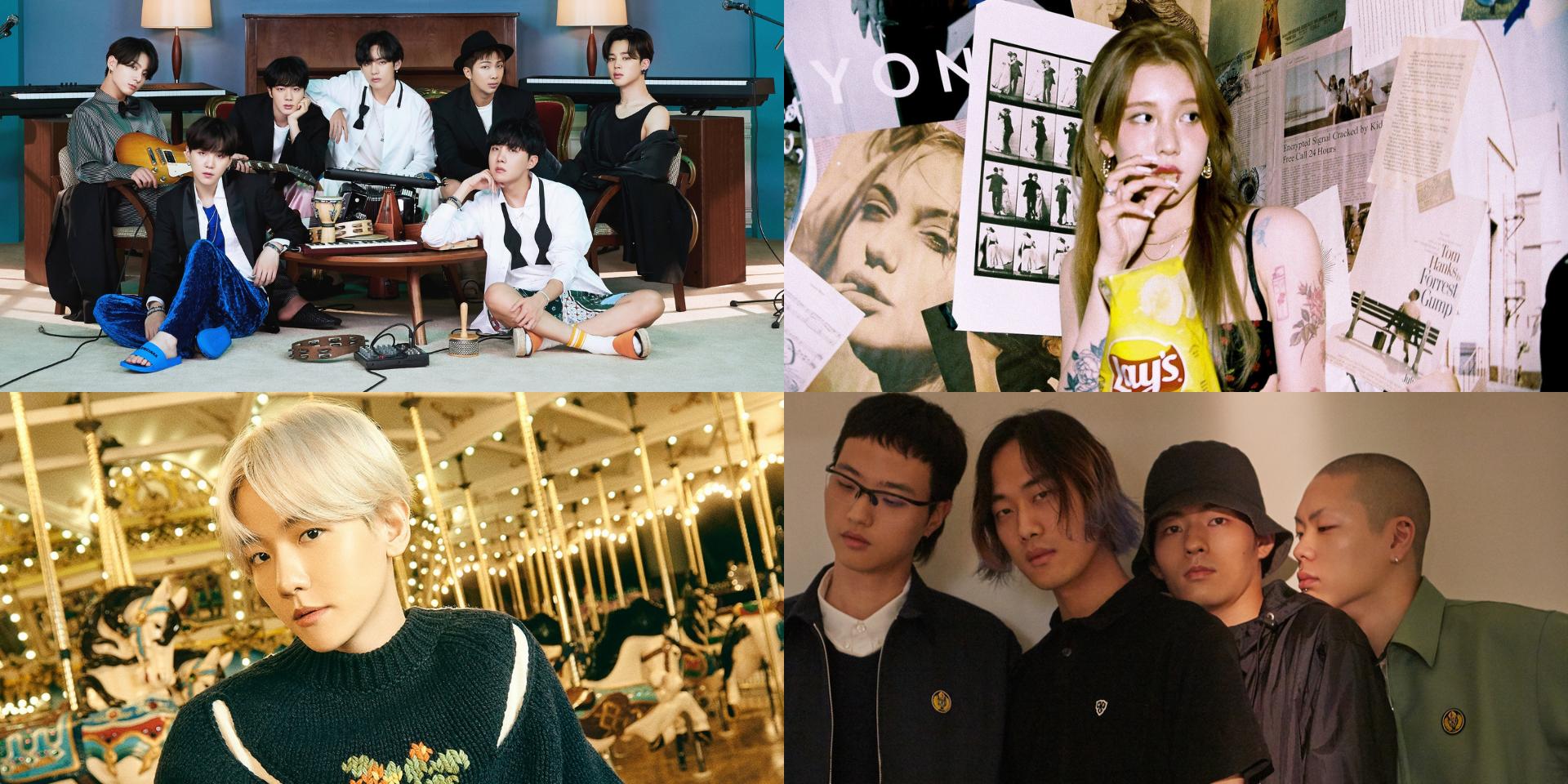Korean Music Awards unveil list of nominees – BTS, Yerin Baek, EXO's Baekhyun, HYUKOH, and more