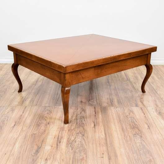 Cabriole Leg Coffee Table