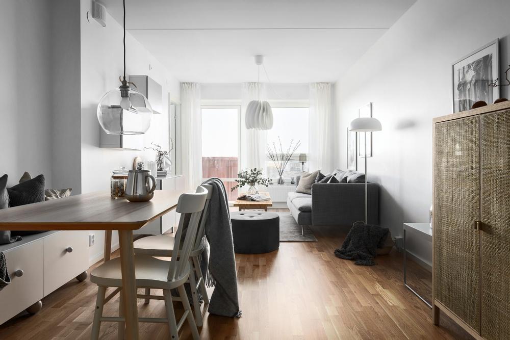 Ikano Bostads vanligaste lägenhetsstorlek är två rum och kök.