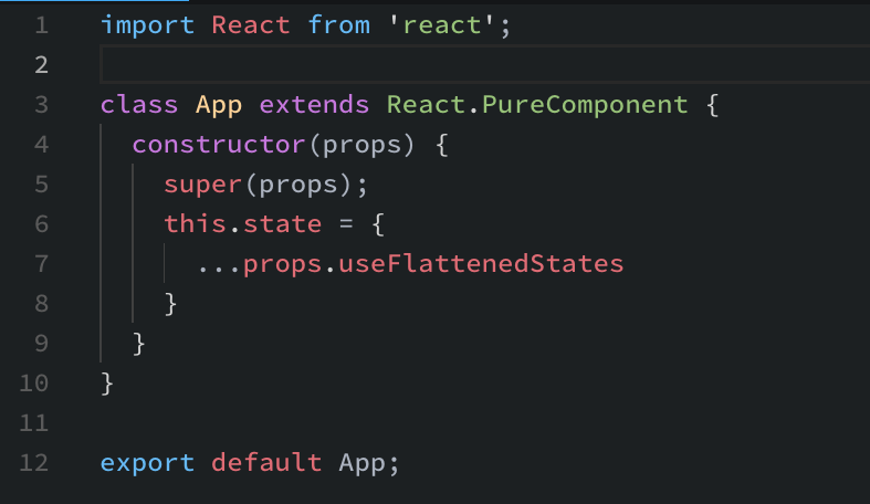 Speed up your React Components with flattened states and