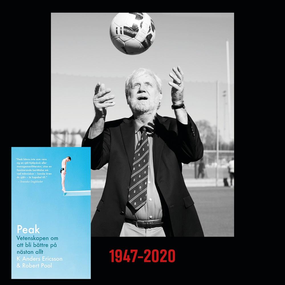 K Anders Ericsson, författare till Peak: Vetenskapen om att bli bättre på nästan allt