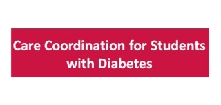 Care Coordination for Students with Diabetes