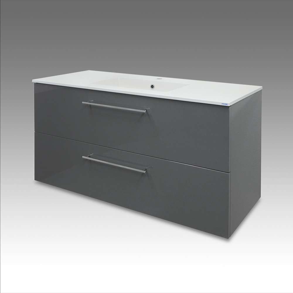 Badrumskommod ARIEL1200 grå