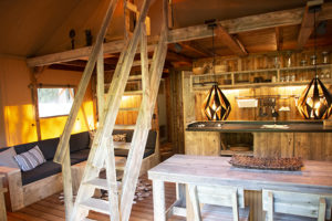 Ullswater Heights Glamping Safari Tent