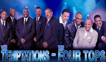 IAH- Temptations and Four Tops, July 25, 2018, gates at 5pm