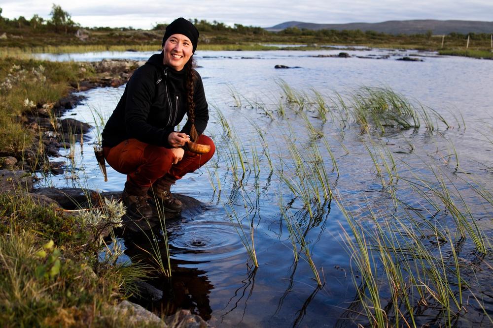 Ann Sparrock, medarbetare på avdelningen för landsbygdsutveckling på Torsta.  Foto: Torsta