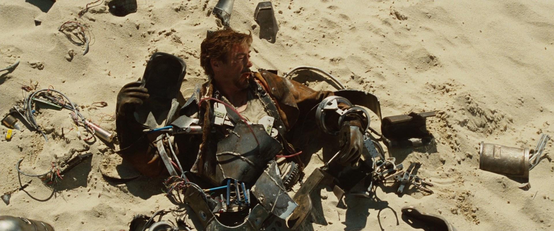 Tony Stark's desert escape