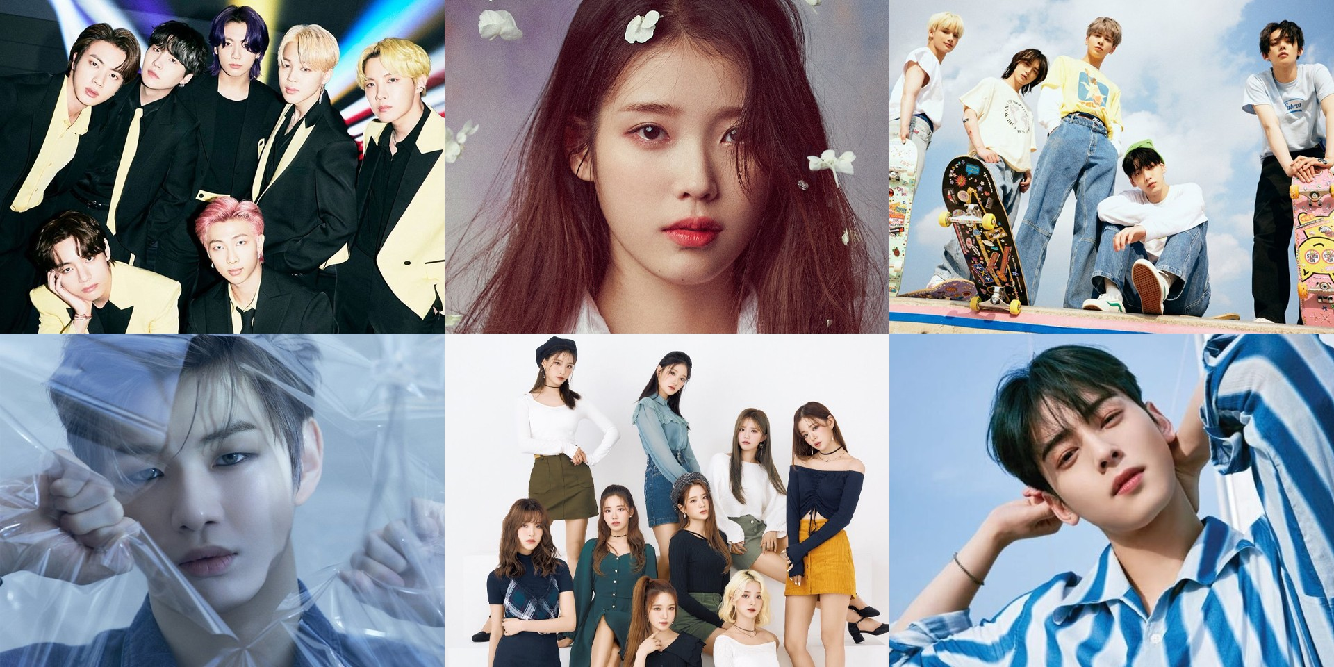BTS, IU, Kang Daniel, fromis_9, Cha Eun-woo, TXT, and more win at the 2021 Brand of the Year Awards