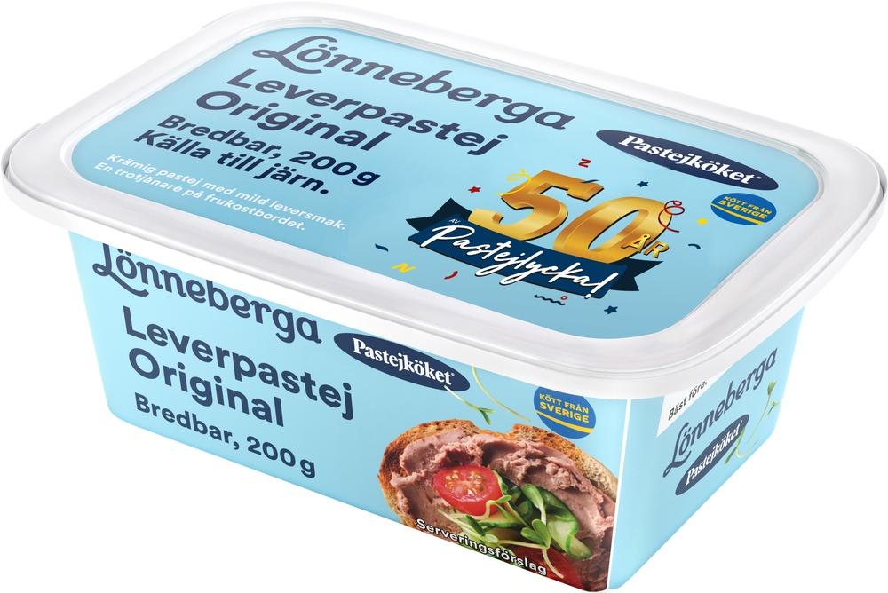 Pastejköket, som är en del av Atria Sweden, fyller 50 år. Detta firas nu med kampanjen 50 år av pastejlycka och ett jubileumslock till Originalet 200 g.