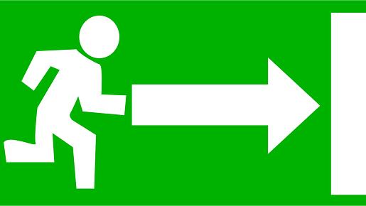Représentation de la formation : Exercice d'évacuation