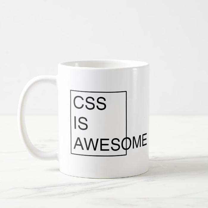 CSS-is-awesome-mug