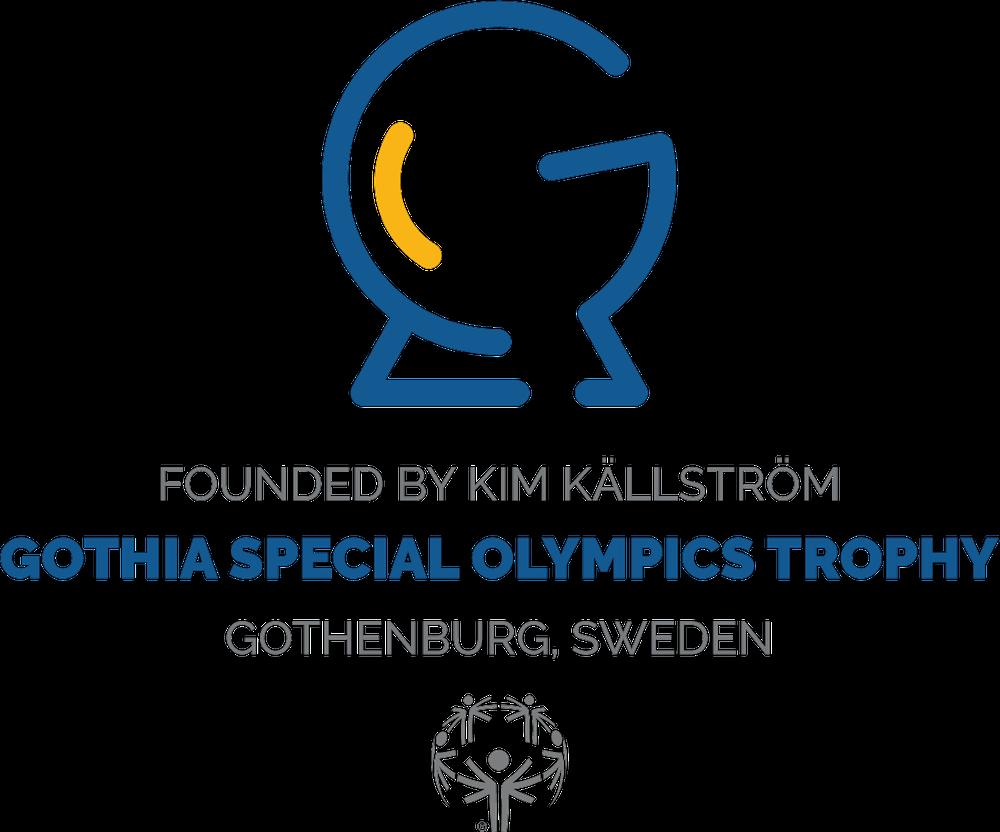 Gothia Special Olympics Trophy Logotype, Blue