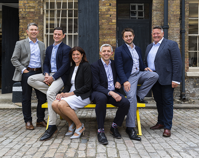 From left: Phil Roker, managing director, Dan Kelly, director of food, ZoÁ« Watts, commercial director, Simon Macfarlane, head of operations -><figcaption>From left: Phil Roker, managing director, Dan Kelly, director of food, ZoÁ« Watts, commercial director, Simon Macfarlane, head of operations - commercial,</p><p>Sam Feenan, head of finance and administration, and Mark Philpott, chairman</figcaption></figure></p><p><strong>Personal service</strong></p><p></p><p>