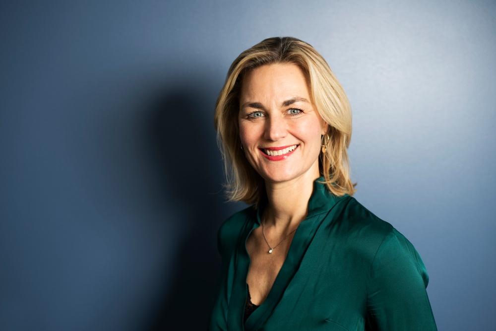 Johanna Öberg, ny styrelseordförande på Joint Academy