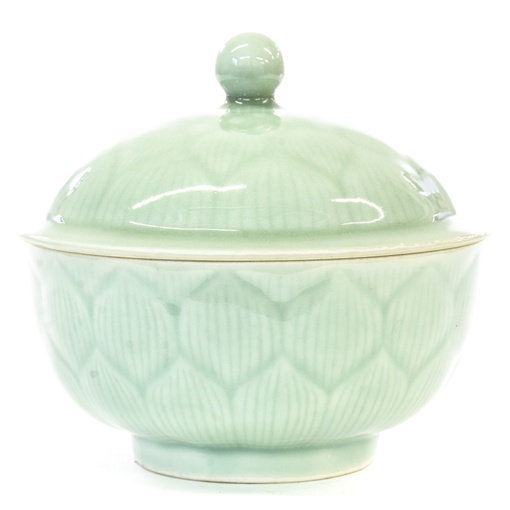 Asian Blue Mint Glazing Ceramic Candy Dish Loveseat