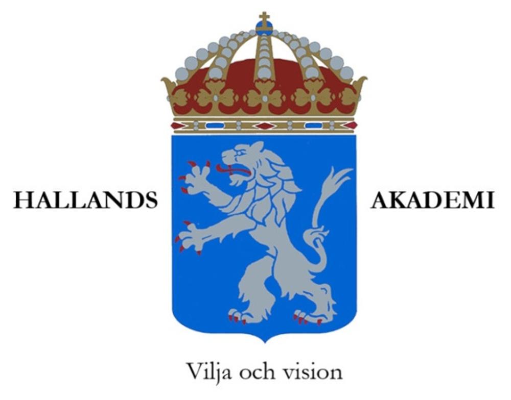 Hallands akademis logotype
