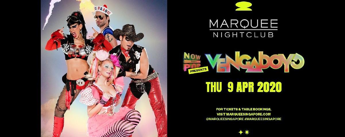 Marquee Singapore Presents Vengaboys