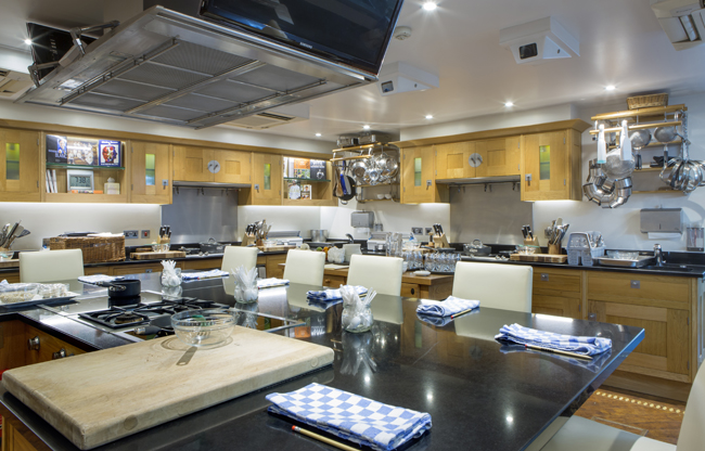 Le Manoir cookery school