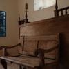 Haim Ben Diwan Synagogue, Interior, Bench Before Bima (Ouirgane, Morocco, 2010)