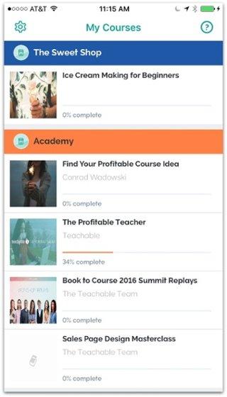 New Teachable iOS App: Let Students Access Your Course on the Go
