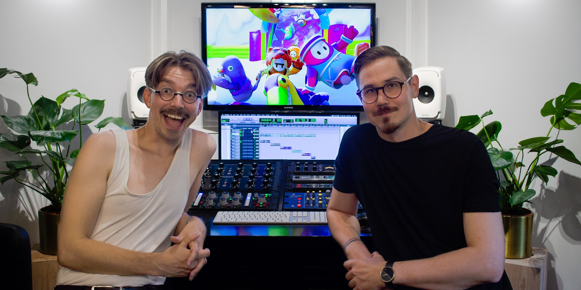 Daniel Hagström and Jukio Kallio talk about the creation of the Fall Guys soundtrack