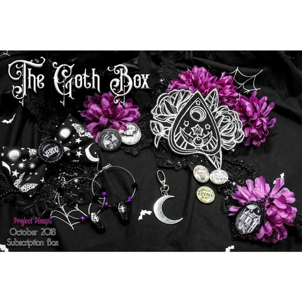 The Goth Box October 2018