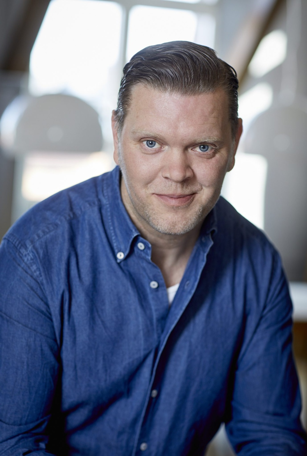 Författarporträtt: Thomas Denke  Foto: Åsa Siller