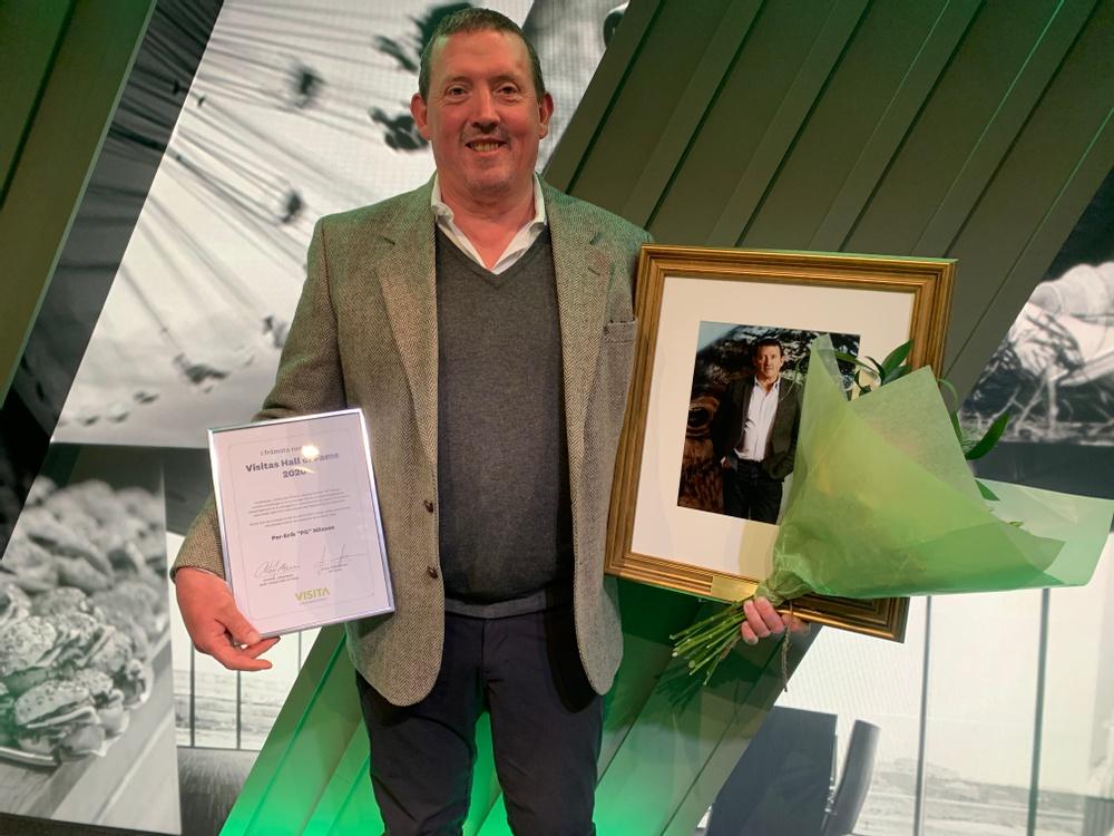 PG Nilsson, vinnare av Hall of Fame. Foto: Visita