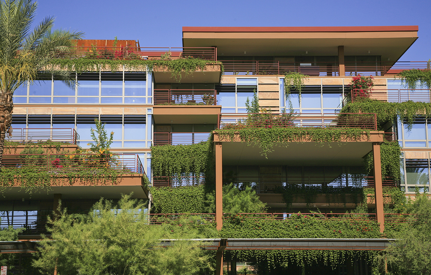LEED Gold:  Verdant and Sustainable