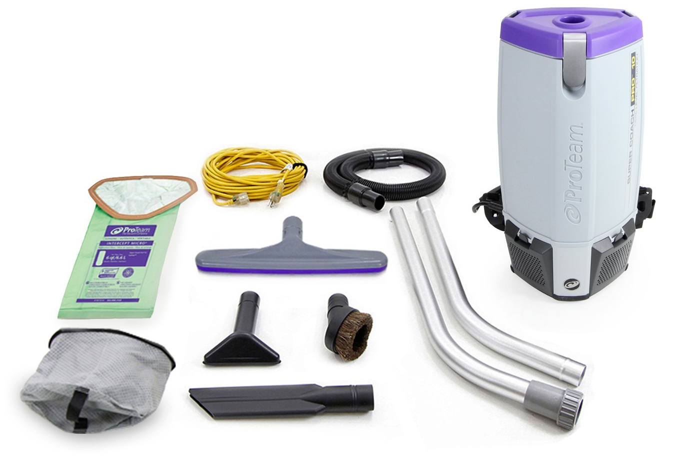 ProTeam ProTeam® SuperCoach Pro 10 Vac W/Kit