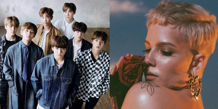 BTS and Halsey break YouTube record set by BLACKPINK