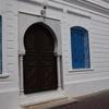 Doorway, El Ghriba Synagogue, Djerba (Jerba, Jarbah, جربة), Tunisia 7/9/2016, Chrystie Sherman