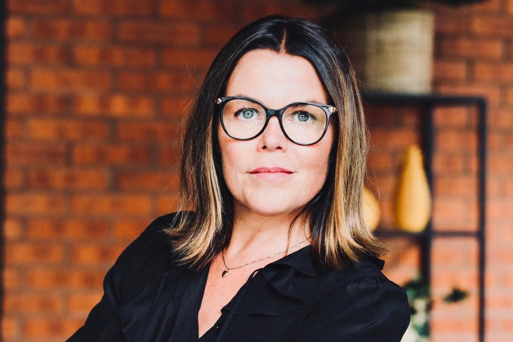 Porträtt av Anna Rosengren som är VD på Almi GävleDala
