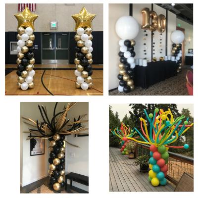 Gradutation Balloon Columns and Balloon Pedestals