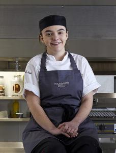 Jessica Michell, apprentice commis chef, the Jetty, Southampton
