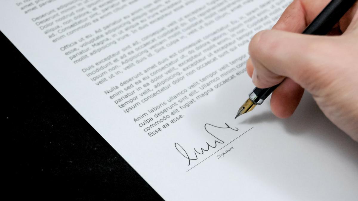 NDA Signature