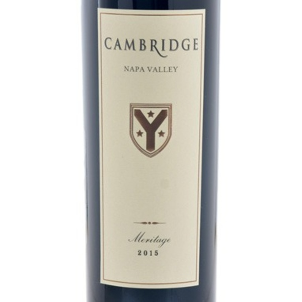 Cambridge Cellars Napa Valley 2015 Meritage