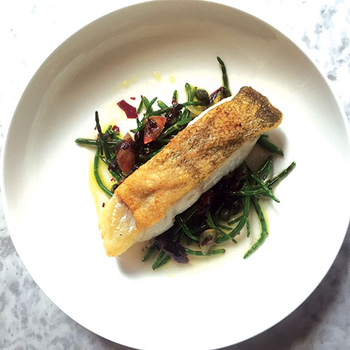 Noble and Rot fish dish