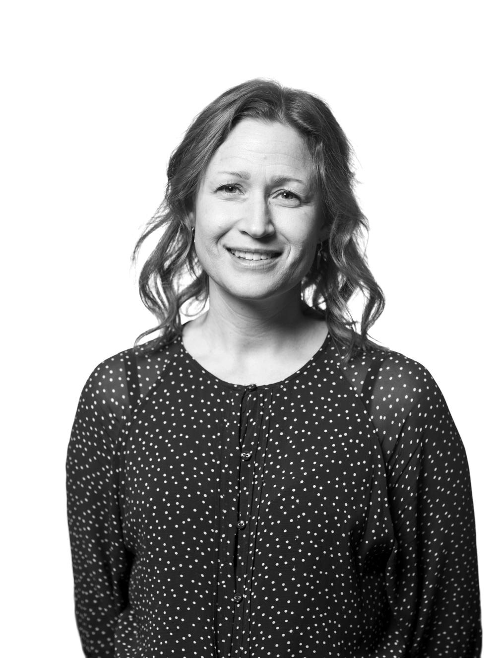 Malin Åberg, pedagog/programkoordinator, Nordiskt Berättarcentrum. Foto: Patrick Degerman.