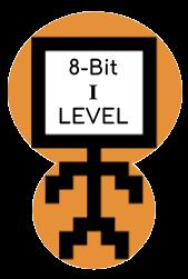 8-bit Level I Coding Badge