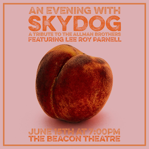 BT - SKYDOG: A Tribute to the Allman Brothers featuring Lee Roy Parnell - June 15, 2019, doors 7pm
