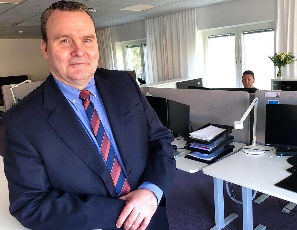 Anders Lundbeck är senaste tillskottet i SISAB:s ledningsgrupp och ekonomichef.