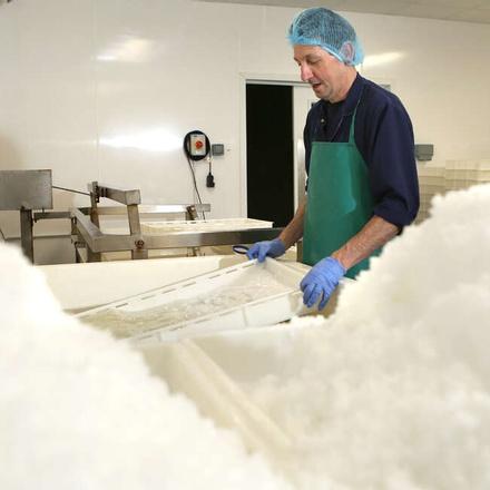 Halen Mon sea salt production