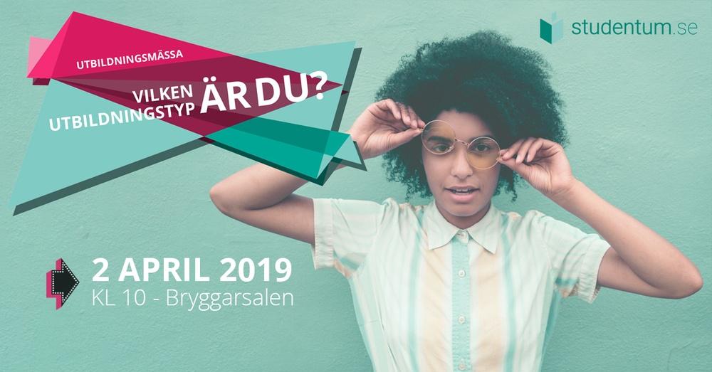 Studentum.se startar ny utbildningsmässa våren 2019