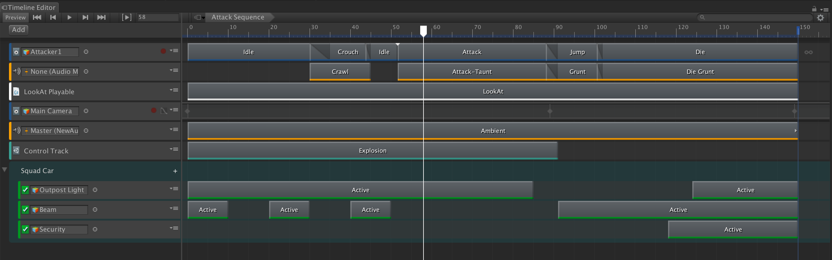 How I improved Unity3d Timelines, with events that call arbitrary code