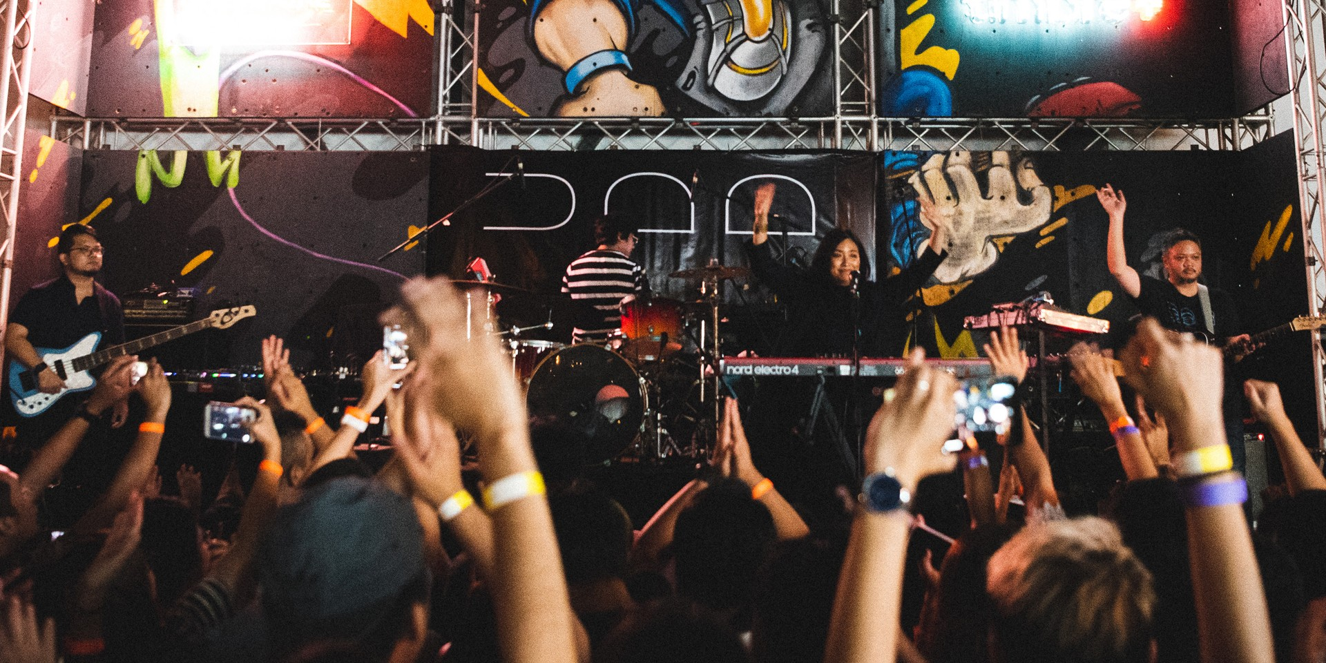 """We got to see the results of the latest album"": UDD on their Singapore show – photo gallery"