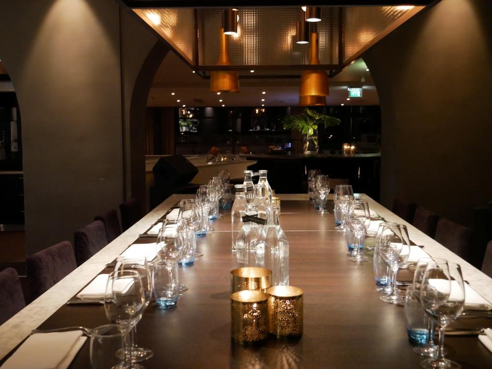 Chefs Table i Restaurang Sand Båstad