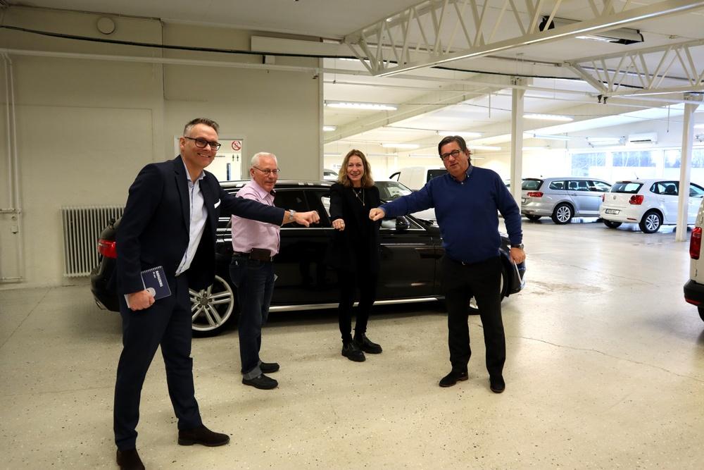 Leif Augustsson, Sven-Olof Fröjd, Karin King, Dan Jonsson. Foto: Lenny Wilsson